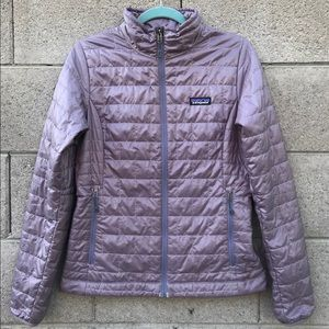 Patagonia Nano Puff Purple Jacket